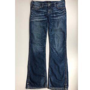 Women's Silver Jeans Frances 18in. Bootcut W30xL39